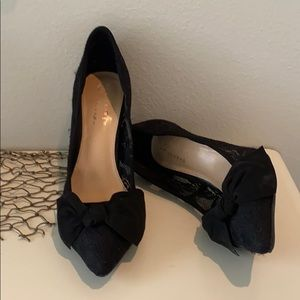 Lauren Conrad Snapdragon Lace Heels with Bow